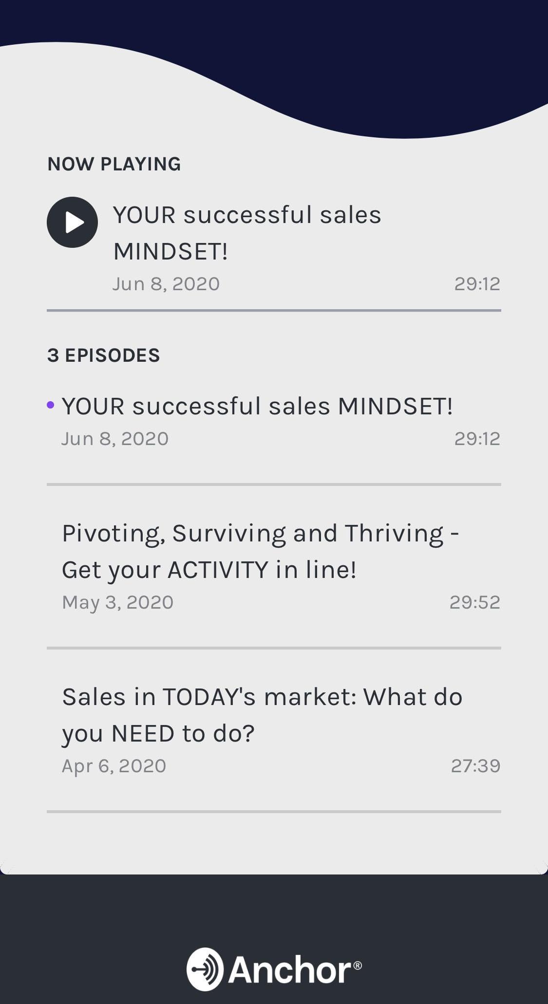 The Sales Activist IMPACT Sales Podcast Episode 3